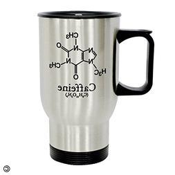 MsMr Personalized Travel Mug - Funny Quote Photo Mug - I Am