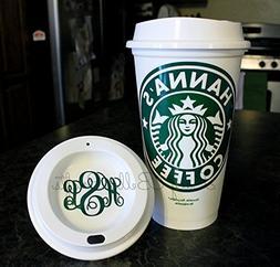 Personalized Starbucks Reusable Plastic-16 Ounce Travel Mug