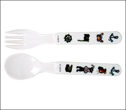 Baby Cie Pirate Black Fork & Spoon, Multicolor, One Size