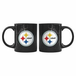 Pittsburgh Steelers Boelter NEW NFL Rally Coffee Mug 11oz FR