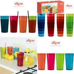 Plastic Tumblers Drinkware Glasses Cups - Acrylic Tumbler Se