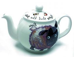 Roy Kirkham Please Shut the Gate 'Sheep' Large 6 Cup Teapot