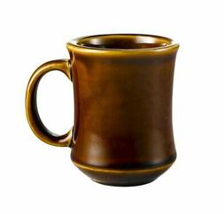 CAC China PM-7-C 7-Ounce Stoneware Round Mug 3-1/4-Inch Cara