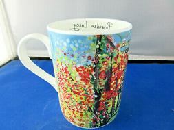 POLESDEN LACY 10oz free shipping FINE BONE CHINA mug Roy Kir