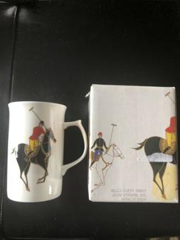 Mikasa Polo Club  Bone China Coffee Mug Tea Cup New💫💫