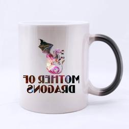 Popular Mother of Dragons Morphing Coffee Mug or Tea Cup,Cer