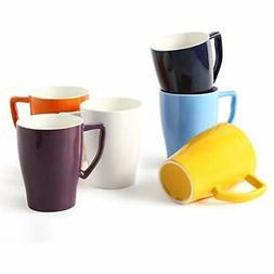 Porcelain Cups Mugs & Saucers Mug 15 Ounce For Coffee Tea La