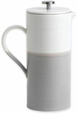 Porcelain French Press Coffee Maker 50 oz Microwave and Dish