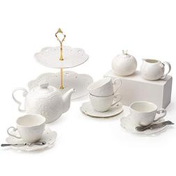 Porcelain Tea Cup and Saucer Coffee Cup Set and Dinnerware
