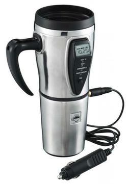 12V Portable Car Coffee Maker Tea Pot Vehicle Thermos Water