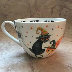 PORTOBELLO by Design Coffee/Tea Mug Bone China HAPPY HALLOWE