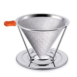 E-PRANCE Honeycombed Stainless Steel Coffee Filter, Reusable