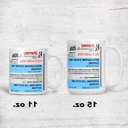 Prescription Coffee Mug Personalized Name Custom Cup Mug 11