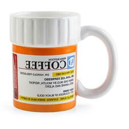 Prescription Mug Pill Bottle Coffee Cup Pharmacy 12 oz. Rx -