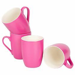 Princess Pink Glossy Finish 10 Oz. New Bone China Coffee Cup