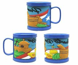 Puerto Rico Crystal Coffee Mug 8 oz -  #2- FREE SHIPPING