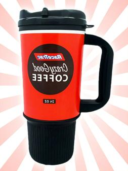RaceTrac Gas Station Red Crazy Good Coffee Mug Cup Insulated