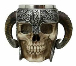 Ragnarok Dragon Boat Viking Ram Horned Pit Lord Warrior Skul