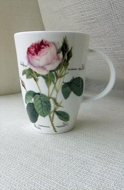 Roy KIRKHAM Redoute Roses Fine Bone China Coffee Tea cup MUG