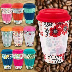 Cambridge Reusable Bamboo Fibre Ecoffee Cups Tea Coffee Mugs