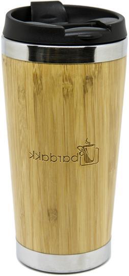 BARDAKK Reusable Eco Natural Real BAMBOO Travel Mug 16oz SAM