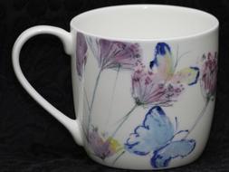 ROSE of ENGLAND BUTTERFLY HAZE Fine Bone China Barrel Mug #1
