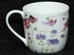 ROSE of ENGLAND MEADOW FLOWERS Fine Bone China Barrel Mug #2