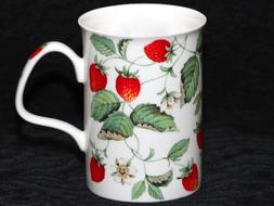 ROY KIRKHAM ALPINE STRAWBERRY Fine Bone China Breakfast Cup/