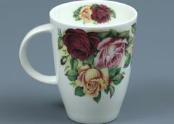 ROY KIRKHAM GARDEN ROSE Fine Bone China LOUISE Mug #1a