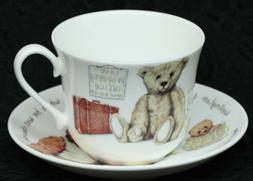 ROY KIRKHAM LOST BEAR Fine Bone China BREAKFAST Cup/Saucer