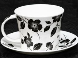 ROY KIRKHAM MODERNE Fine Bone China Breakfast Cup & Saucer S