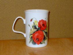 ROY KIRKHAM POPPY'S Fine Bone China Breakfast Cup & Saucer S