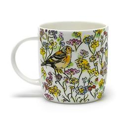 Roy Kirkham RSPB Morning Meadow Birds Sophie Mug, Set of 2 R