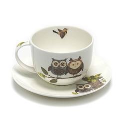 Roy Kirkham RSPB Natures Way Woodland Owl Jumbo Breakfast Cu