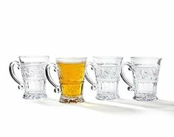 Studio Silversmiths Renaissance 12 oz. Mug Set of 4 Glasswar