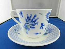 *SALE*  LAVENDER BONE CHINA BREAKFAST CUP SAUCER, MADE IN EN