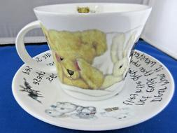 *SALE* MONSTERS, fine bone china Breakfast Cup & Saucer, Mad