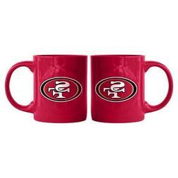 San Francisco 49ers Boelter NFL Rally Coffee Mug 11oz FREE S