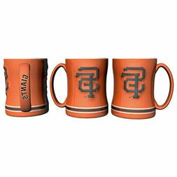San Francisco Giants Boelter MLB Orange Relief Coffee Mug 14