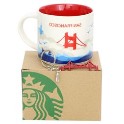 Starbucks San Francisco You Are Here Coffee Mug YAH, Golden