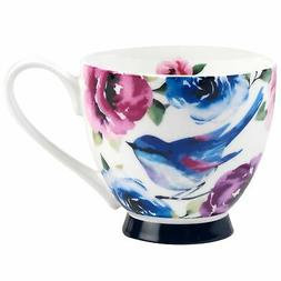 Portobello Sandringham Adeline Bone China Mugs Tea Cups, Set