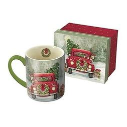 santa s truck 14 oz mug coffee