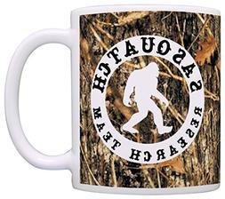 Sasquatch Research Team Funny Yeti Hunter Gag Gift Coffee Mu