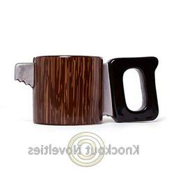 Saw Mug Coffee Tea Mug Fun Novelty Handle