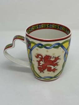 Scotland Mug Coffee Cup Rampant Lion Scottish Weave Clara Cr