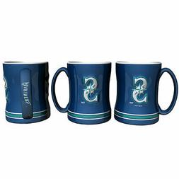 Seattle Mariners Boelter MLB Relief Coffee Mug 14oz FREE SHI
