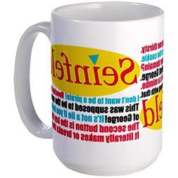 11 ounce Seinfeld Quotes Logo Mugs Large Mug - Standard Mult