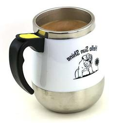 Self Stirring Cold&Hot Coffee Mug Auto Electric Mixer Tea Su