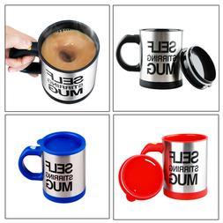 Self Stirring Mug Auto Mixer Drink Tea Soup Home Insulated C