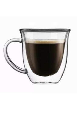 JoyJolt Serene Double Walled Glasses insulated Coffee Mug 7.